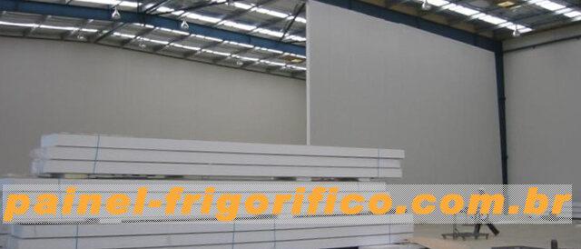Instalação mediante Consultoria Previa e Projeto do Iso-painel para uma Câmara Fria de Grande Porte
