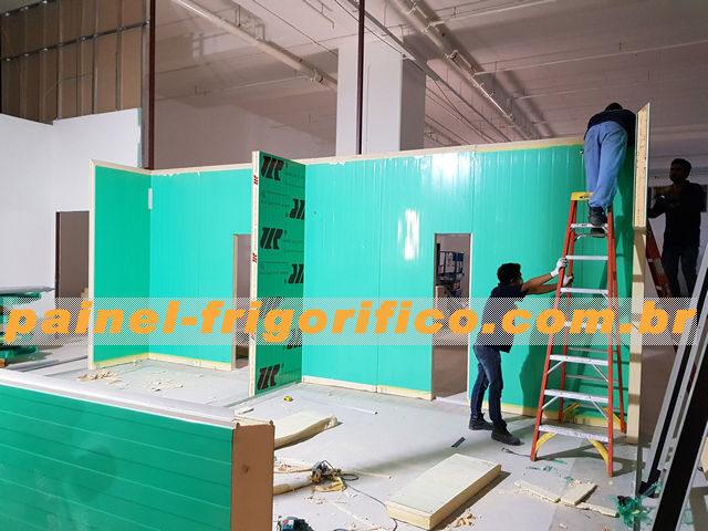 Montagem e/ou Desmontagem de Câmara Fria em Painel Frigorifico