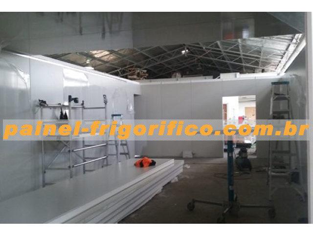 Painel frigorifico: Mão de obra especializada para ampliação da câmara frigorifica
